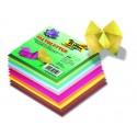 Origami papier mix farieb, 100 ks