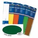 Krepový papier tmavo-zelený