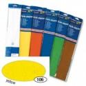 Krepový papier žltý