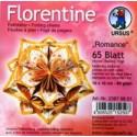 Fleurogami Romance - oranžový set