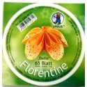 Fleurogami Bellis - oranžový kruhový