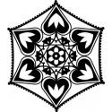 Šablóna Orámované listy