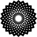 Šablóna Orientálny ornament