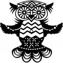 Šablóna Lietajúca sova
