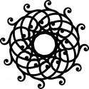 Šablóna Mandala