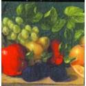 Ovocie, 33 x 33 cm, 20 ks