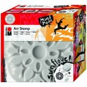 Art Stamp Slnečnica