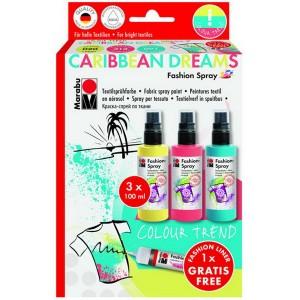 Fashion Spray 3x100ml - CARIBBEAN DREAMS