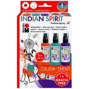 Fashion Spray 3x100ml - INDIAN SPIRIT