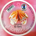 Fleurogami Romance - oranžový set kruh