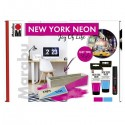 Súprava New York neon - Joy of life