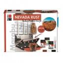 Súprava Nevada rust - Industrial design