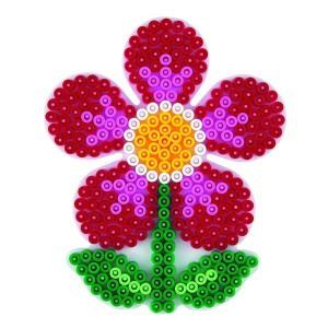 Zažehlovacia podložka - kvetinka