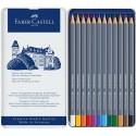 Faber Castell Pastelky Goldfaber Aqua, 12 ks