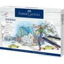 Faber Castell Pastelky Goldfaber, darčekový set