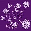 Šablóna Tancujúce kvety
