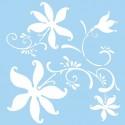 Šablóna Umelecké kvety
