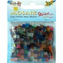 Mozaikové kamienky mix, 700 ks, 5 x 5 mm