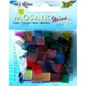 Mozaikové kamienky mix, 190 ks, 10 x 10 mm