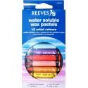 Vodou rozpustné voskovky Reeves, 12ks