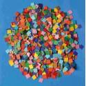 Papierová mozaika, 10 000 ks