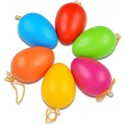 Vajíčka plastové farebné, 120 ks