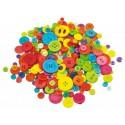 Plastové gombíky, 500 g