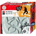 Art Stamp Srdcia