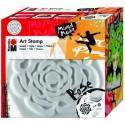Art Stamp Ruža