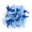 Glorex Pierka modré, 2 g