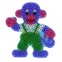 Zažehlovacia podložka - opica