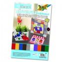 Folia Filcové farebné hárky samolepiace A4 , 10 ks