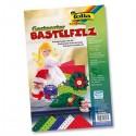 Folia Filcové farebné hárky A4 Vianoce, 5 ks